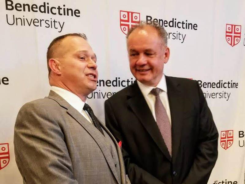 LSG's CEO, Eric Kocsis meets with President of Slovak Republic – Andrej Kiska